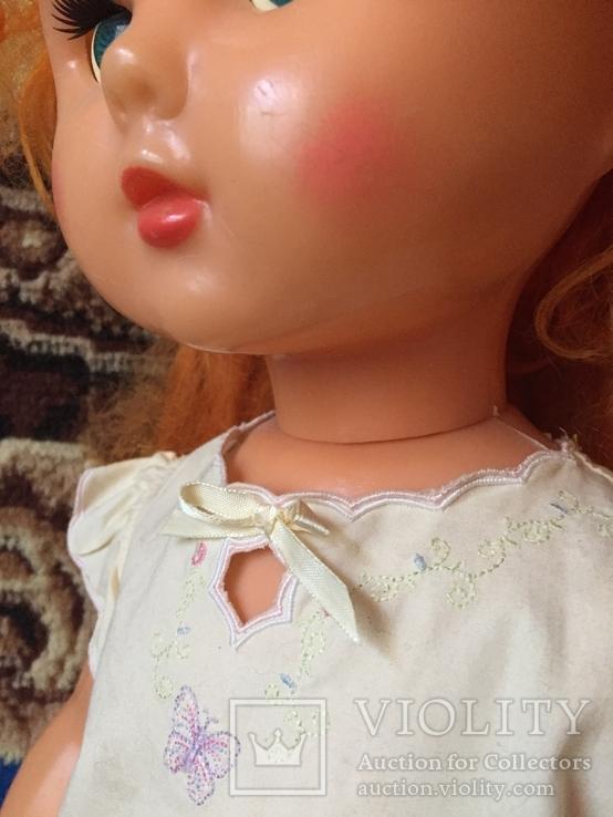 Большая кукла СССР рост 66 см из коллекции, фото №5