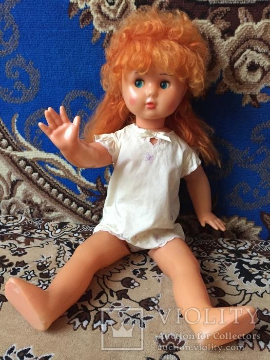 Большая кукла СССР рост 66 см из коллекции, фото №6