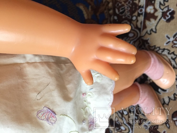 Большая кукла СССР рост 66 см из коллекции, фото №8