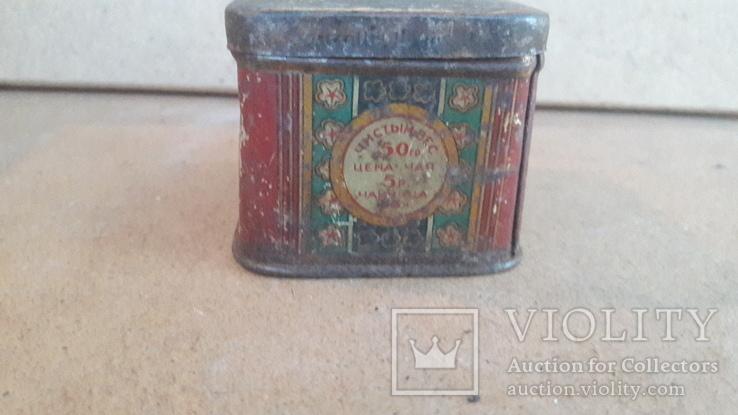 Коробка чайница Чай грузинский наркомпищепром цена чая 5руб чайницы 56к, фото №3