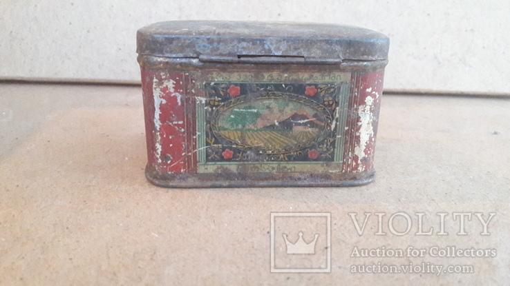 Коробка чайница Чай грузинский наркомпищепром цена чая 5руб чайницы 56к, фото №4