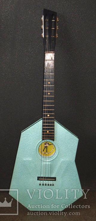 Акустическая гитара. Металлическая. Житомирская фабрика.  6 струн., фото №3