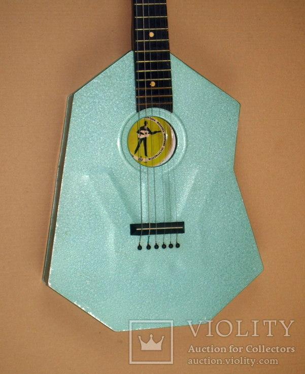 Акустическая гитара. Металлическая. Житомирская фабрика.  6 струн., фото №5