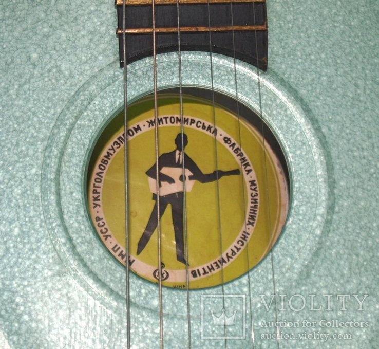 Акустическая гитара. Металлическая. Житомирская фабрика.  6 струн., фото №6