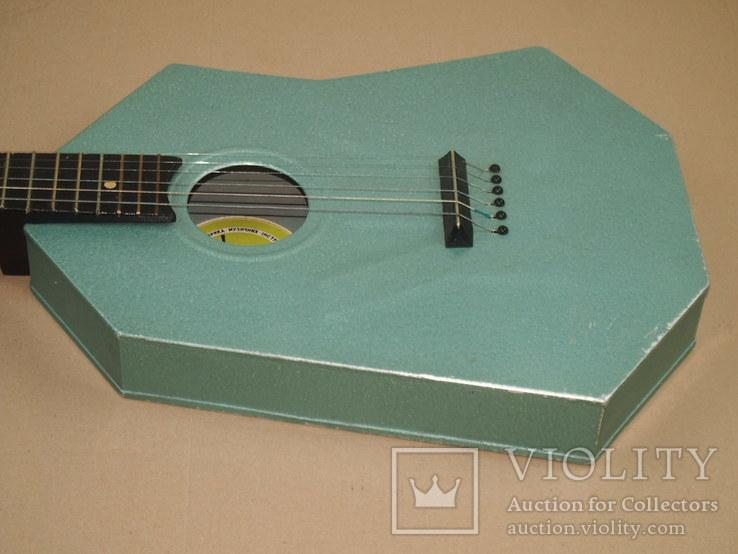 Акустическая гитара. Металлическая. Житомирская фабрика.  6 струн., фото №7