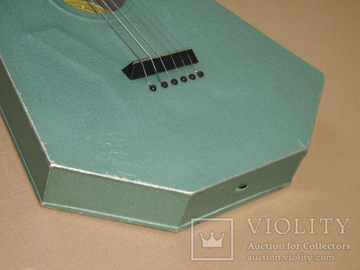 Акустическая гитара. Металлическая. Житомирская фабрика.  6 струн., фото №8