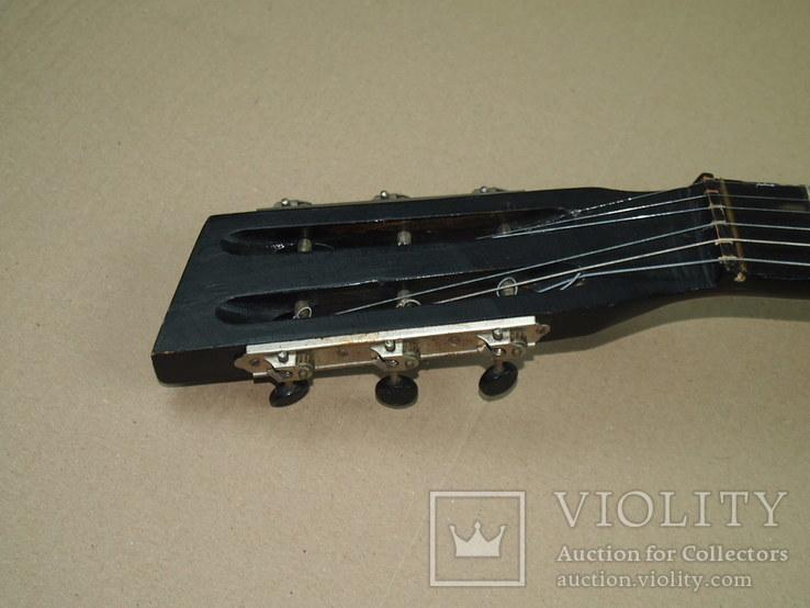 Акустическая гитара. Металлическая. Житомирская фабрика.  6 струн., фото №12