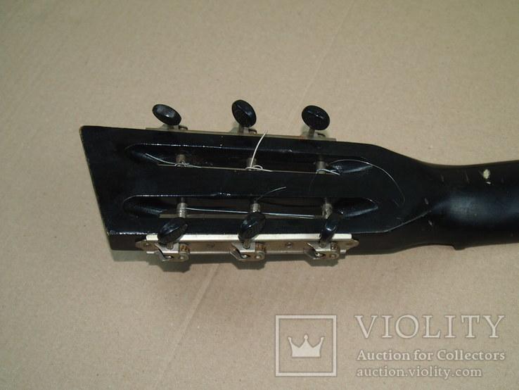 Акустическая гитара. Металлическая. Житомирская фабрика.  6 струн., фото №13
