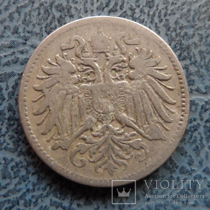 10 геллеров 1893   Австро-Венгрия     (9.3.17)~, фото №3