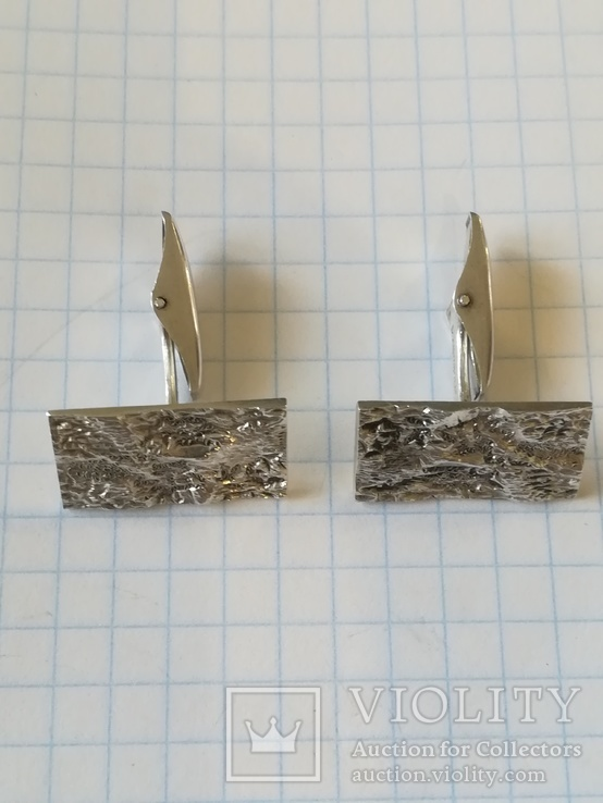 Срібні запонки, фото №4