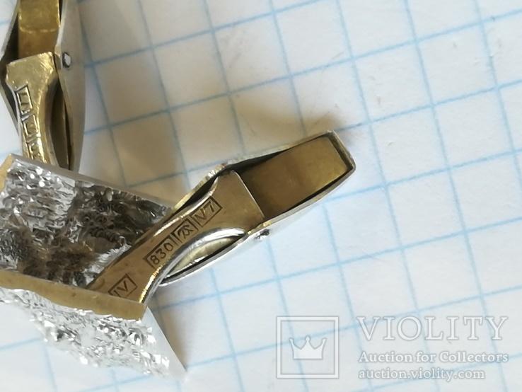 Срібні запонки, фото №7