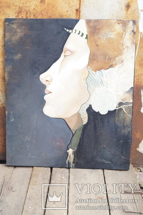 Картина Девушка 70х60