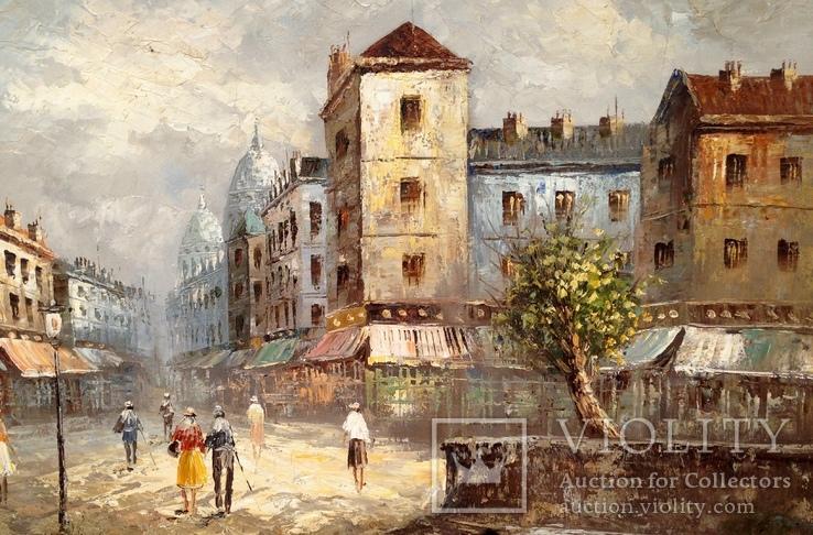Картина,холст,масло (Франция), фото №4