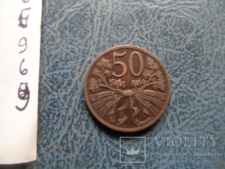 50 геллеров  1947  Чехословакия    (,9.6.9)~, фото №4