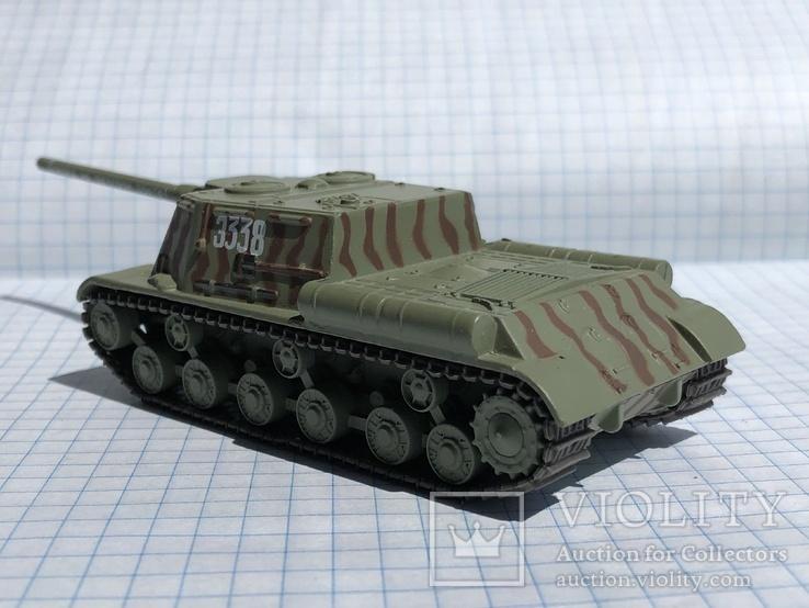 Танк ИСУ 122, фото №8