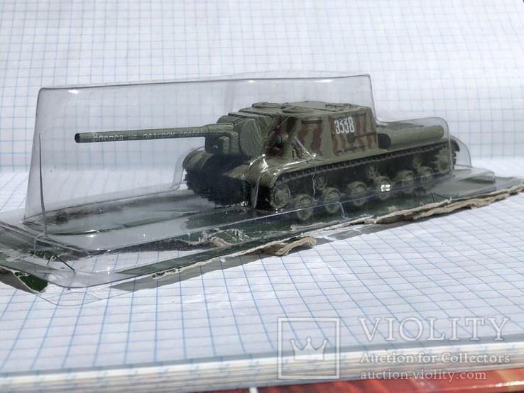 Танк ИСУ 122, фото №13