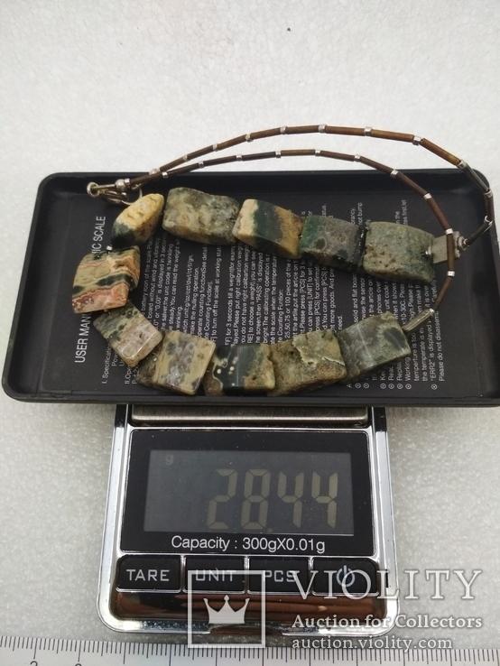 Ожерелье колье яшма, фото №7