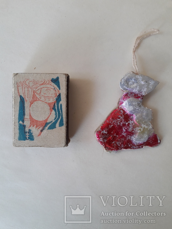"Елочная игрушка ""Мыша"", фото №3"