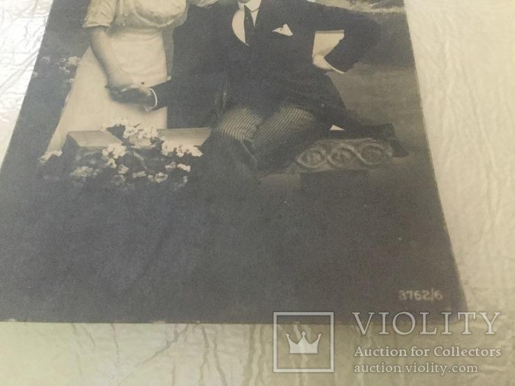 Старинная открытка, фото №4