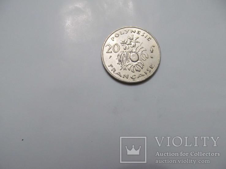 20 франків Французька Полінезія