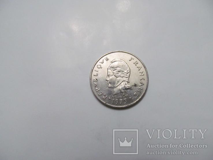 20 франків Французька Полінезія, фото №3