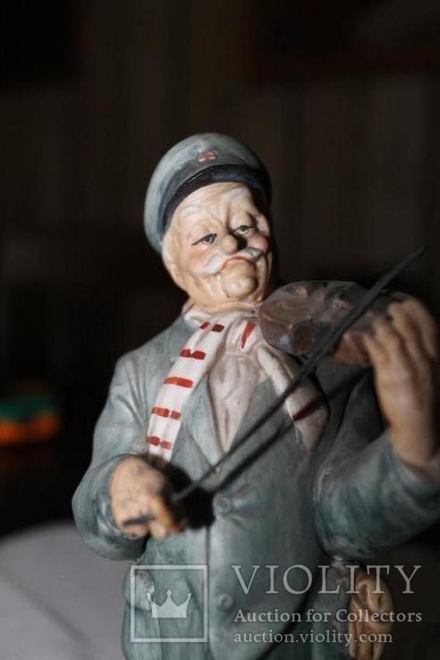 Антикварная статуэтка Capodimonte Италия, фото №3