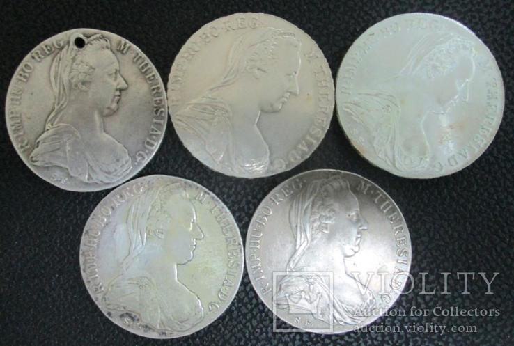 Серебряные талеры Марии Терезии, фото №3