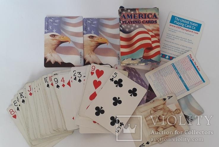 Карты игральные (Америка), фото №2