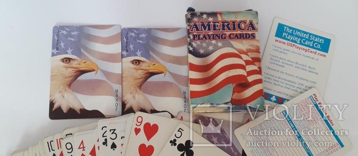 Карты игральные (Америка), фото №3