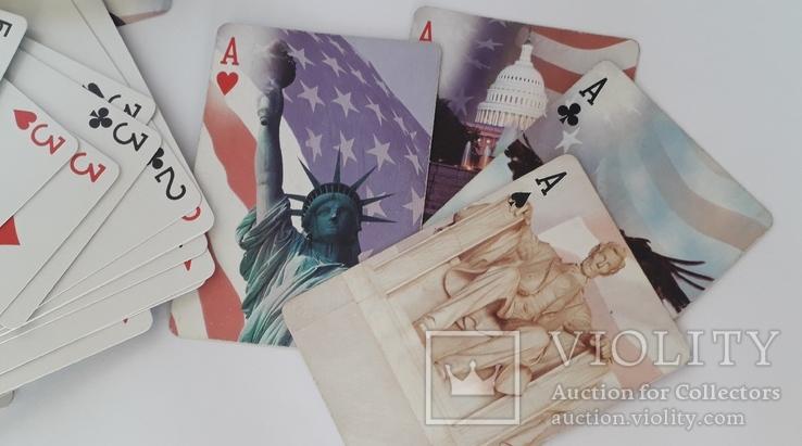 Карты игральные (Америка), фото №6