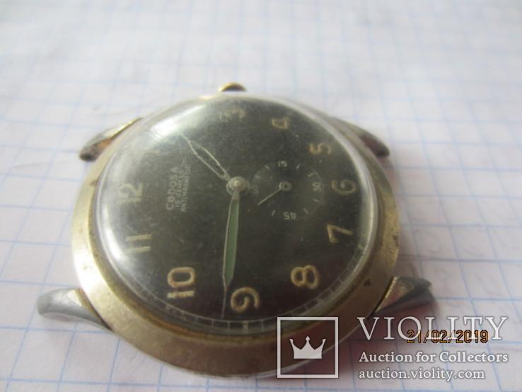 Codosa 15 jewels miletary 1940, фото №4