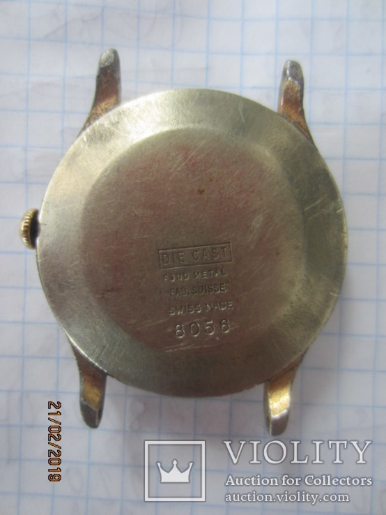 Codosa 15 jewels miletary 1940, фото №9