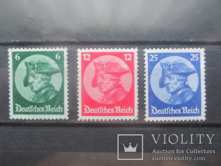 Рейх, Фридрих, рейхстаг в г.Потсдаме с наклейками 1933