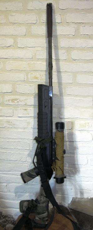 Пневматическая винтовка Crosman с оптическим прицелом, фото №3