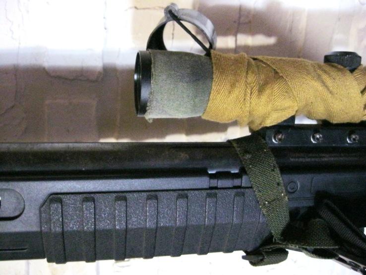 Пневматическая винтовка Crosman с оптическим прицелом, фото №11