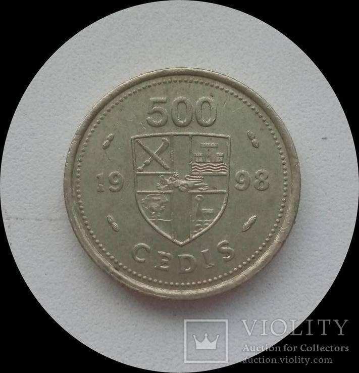 Гана 500 седи 1998 г., фото №3