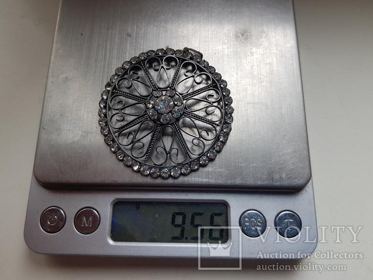 Советский кулон. Серебро 875 проба. Вес 9.6 г., фото №9