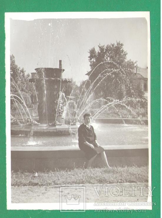 Женщина фонтан Киев ВДНХ 1965, фото №2