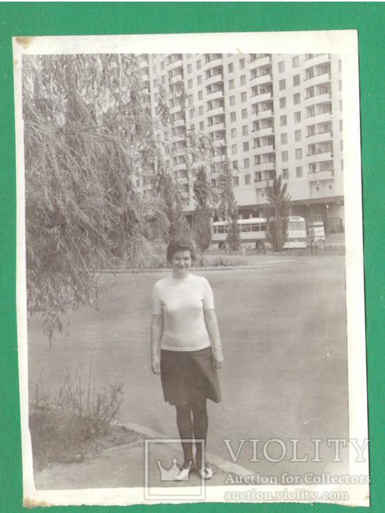 Женщина мода Киев 1970, фото №2