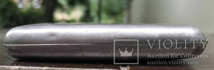 Портсигар серебро, фото №4