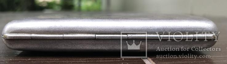 Портсигар серебро, фото №5