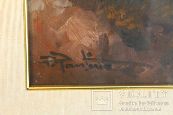 Картина маслом на холсте. П. Пантино, фото №3