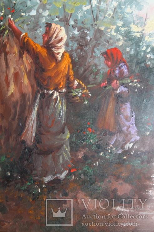 Картина маслом на холсте. П. Пантино, фото №5