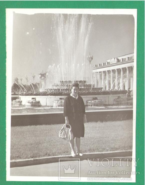 Женщина фонтан Киев выставка 1965, фото №2