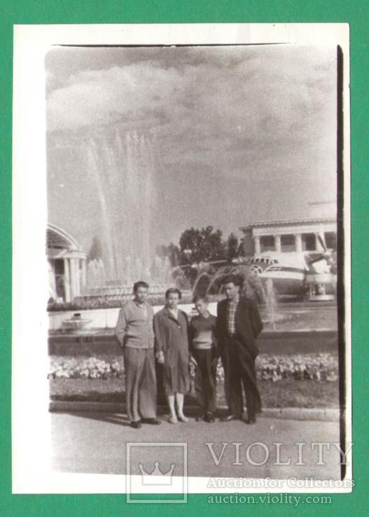 Киев ВДНХ выставка фонтан 1963, фото №2