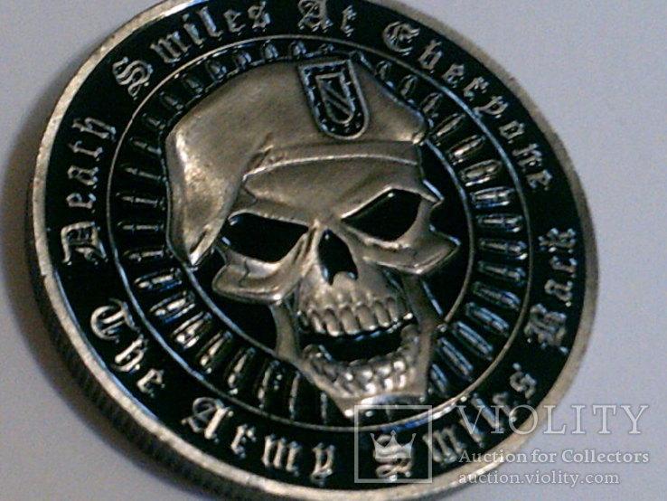 Зеленый берет US.Army - сувенирный жетон, фото №4