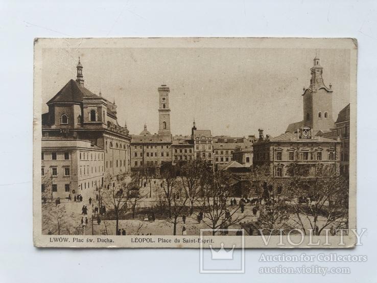 Lwow. Plac sw. Ducha 1928