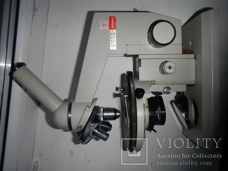 Микроскоп биолам, фото №12