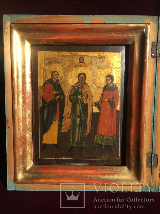 Икона Самон, Гурий и Авив, фото №3