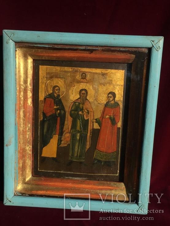 Икона Самон, Гурий и Авив, фото №4